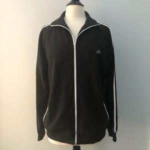 Men's Atticus Track Jacket XL black white stripe